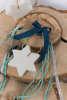 Εικόνα με Μπομπονιέρα σαπουνάκι αστέρι λευκό