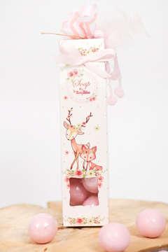 Εικόνα του Μπομπονιέρα σαπουνάκια ζώα του δάσους κορίτσι