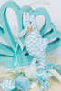 Εικόνα με Μπομπονιέρα υφασμάτινος ιππόκαμπος