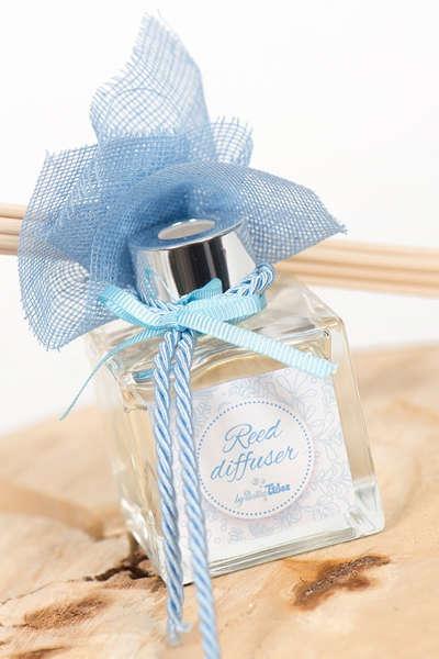 Εικόνα με Μπομπονιέρα αρωματικό elegant σιέλ