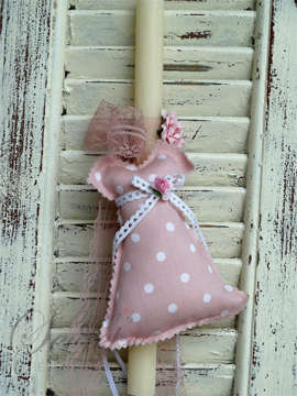 Εικόνα του Πασχαλινή λαμπάδα φόρεμα