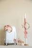 Εικόνα με Σετ βάπτισης στεφανάκι και πεταλούδα