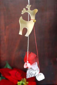 Μπομπονιέρα νιφάδα από πλεξιγκλας Χριστουγεννιάτικο κρεμαστό στολίδι.