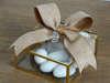Εικόνα με Μπομπονιέρα κουτάκι γυάλινο