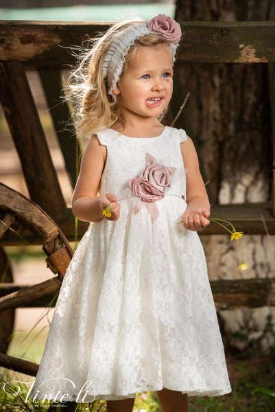 Εικόνα με Vinte Li Φόρεμα Βάπτισης 2911