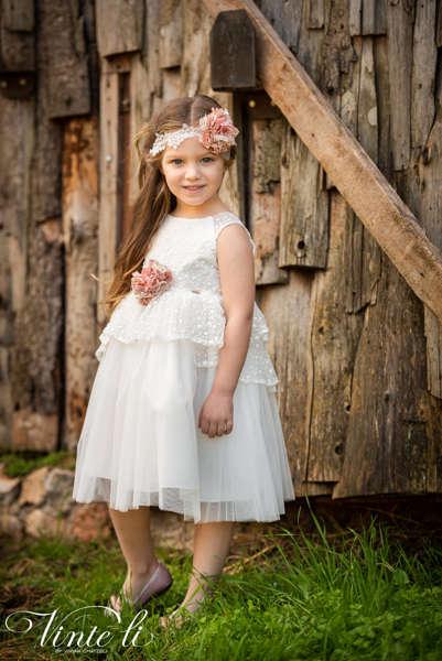 Εικόνα με Vinte Li Φόρεμα Βάπτισης 2914