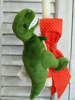 Εικόνα με Πασχαλινή λαμπάδα δεινόσαυρος