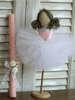 Εικόνα με Λαμπάδα πασχαλινή χειροποίητη μπαλαρίνα