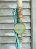 Εικόνα με Λαμπάδα πασχαλινή ξύλινο αερόστατο