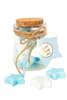 Εικόνα με Βαζάκι με αστεράκια σαπουνάκια άσπρα & σιελ