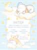 Εικόνα με Προσκλητήριο βάπτισης SWEET DREAMS
