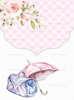 Προσκλητήριο βάπτισης με θέμα την Mary Poppins