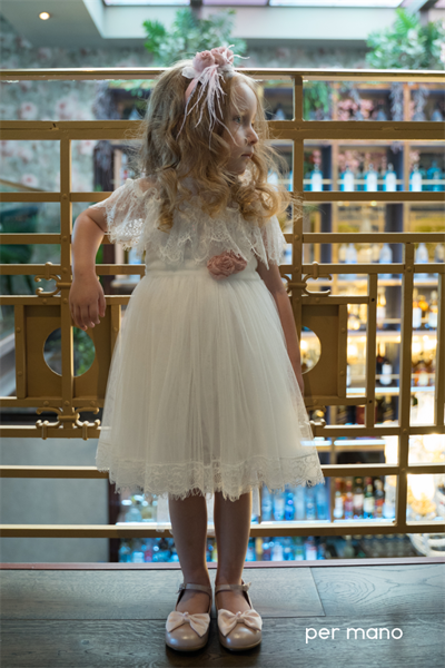 Εικόνα με Βαπτιστικό φόρεμα permano 2040