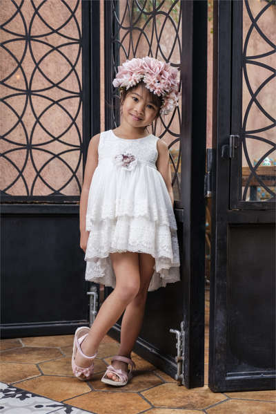Εικόνα με Βαπτιστικό φόρεμα Bambolino Alkistis 9147