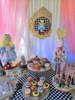 στολισμος για πάρτι ή βάπτιση με θέμα alice in wonderland