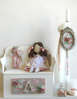 Εικόνα με Πακέτο βάπτισης χειροποίητη κούκλα