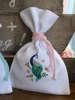 Εικόνα με Βαπτιστική μπομπονιέρα πουγκί με τύπωμα