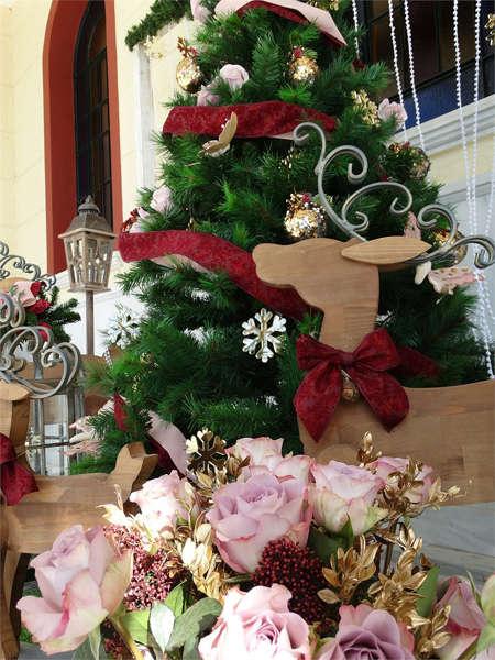 Εικόνα με Στολισμός εκκλησίας Χριστουγεννιάτικος
