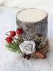Εικόνα με Χριστουγεννιάτικο διακοσμητικό κερί