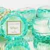 Εικόνα με Μπομπονιέρα αρωματικό κερί βεραμάν γυάλινο με άρωμα whisper