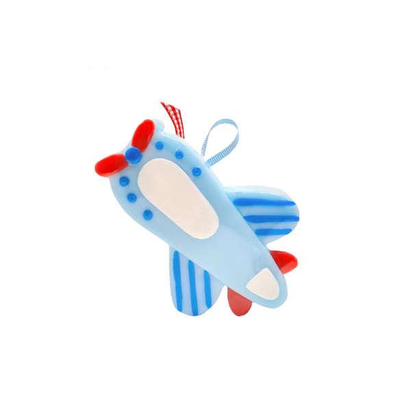 Εικόνα με Μπομπονιέρα αεροπλάνο σαπουνάκι