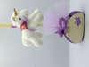 Λαμπάδα πασχαλινή unicorn