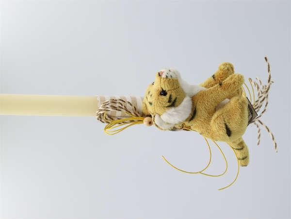 λαμπάδες πασχαλινές με τίγρη