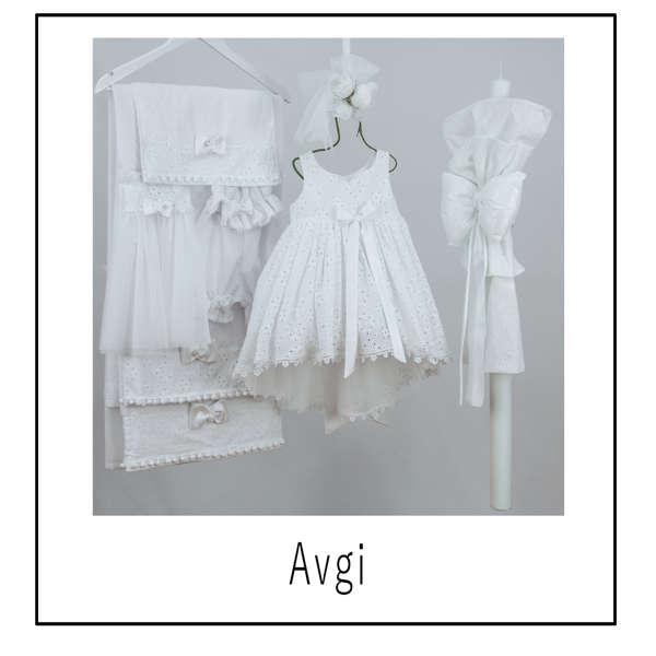 Εικόνα με Βαπτιστικό φόρεμα Bambolino Avgi 9304