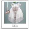 Εικόνα με Βαπτιστικό φόρεμα bambolino Errica 9322