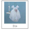 Εικόνα με Βαπτιστικό φόρεμα bambolino Eliza 9346