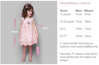 Εικόνα με Βαπτιστικό φόρεμα bambolino Kiki 9311