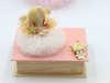 Εικόνα με Λαμπάδα πασχαλινή νεράιδα ροζ