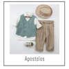 Εικόνα με Βαπτιστικό Σύνολο Bambolino Apostolos 9405