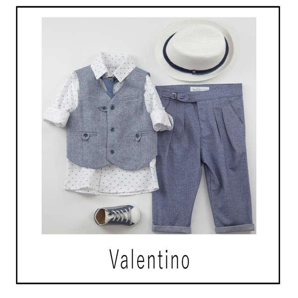 Εικόνα με Βαπτιστικό Σύνολο Bambolino Valentino 9441