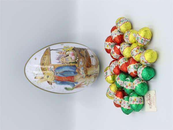 Εικόνα με Διακοσμητικό αυγό μεγάλο μεταλλικό