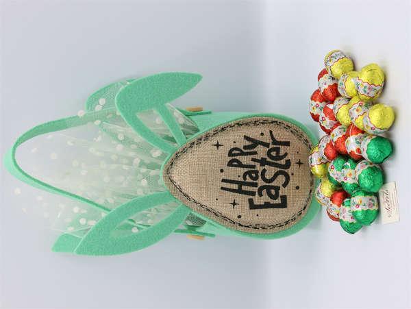 Εικόνα με Αυγουλάκια σοκολατένια τσαντάκι Happy Easter