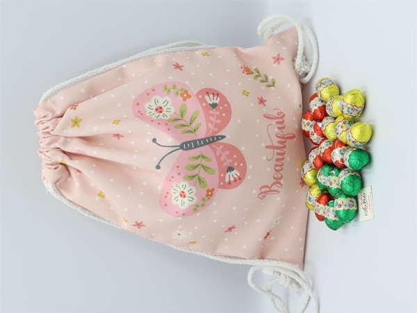 Εικόνα με Αυγουλάκια σοκολατένια σε πουγκί backpack