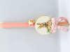 Εικόνα με Πασχαλινή λαμπάδα διακοσμητικό λαγουδάκι