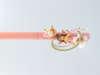 Εικόνα με Πασχαλινή ροζ λαμπάδα νεράιδα στο φεγγάρι
