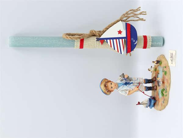Εικόνα με Πασχαλινή λαμπάδα Master Mariner by Christine Haworth