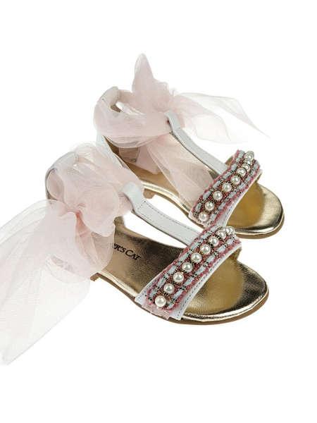 Εικόνα με βαπτιστικά παπούτσια ROXANNE PINK