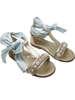 Εικόνα με βαπτιστικά παπούτσια SIA LIGHT BLUE