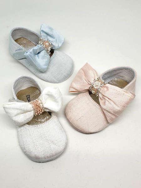 Εικόνα με βαπτιστικά παπούτσια αγκαλιάς  VALIA