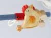 Εικόνα με Λαμπάδα πασχαλινή λούτρινο κοκοράκι