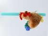 Εικόνα με Λαμπάδα πασχαλινή λούτρινο κοκοράκι ecofriendly