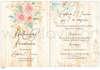 Εικόνα με Προσκλητήριο γάμου vintage με λουλούδια