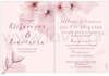 Εικόνα με Προσκλητήριο γάμου με άνθη αμυγδαλιάς